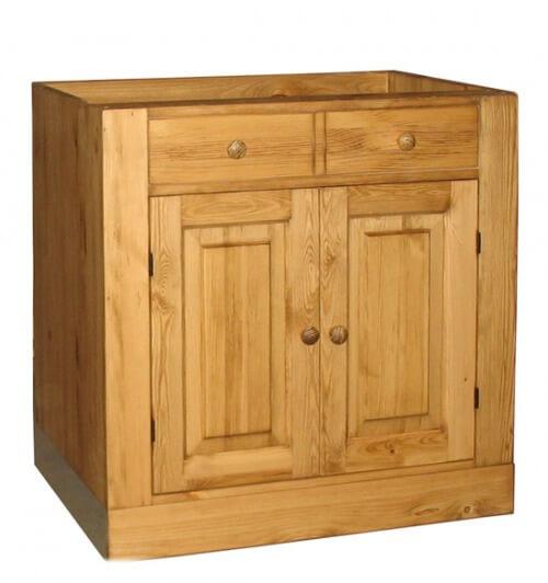 двухдверный шкаф под мойку для кухни