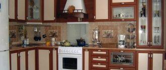 фасад для кухни рамка МДФ