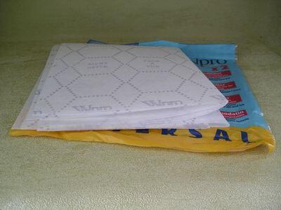 флизелиновый жировый фильтр для вытяжки