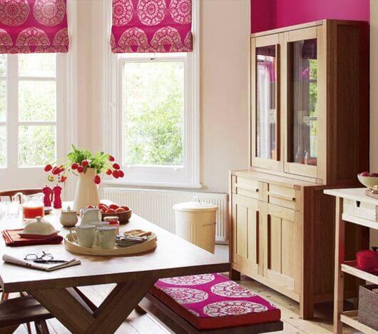 фото кухни цвета фуксия