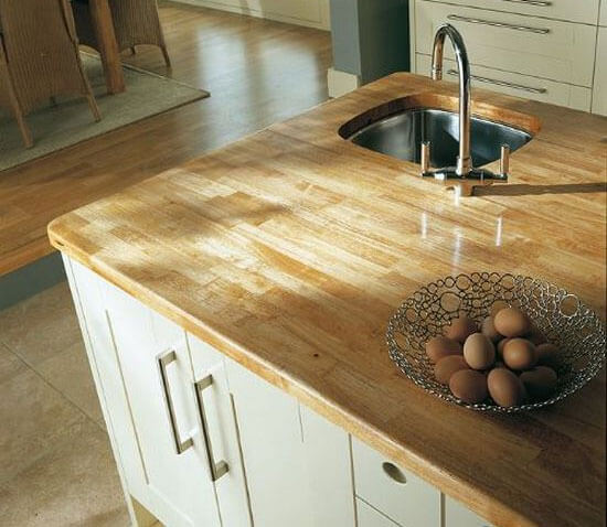 Деревянные столешницы для кухни