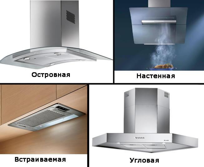 какая вытяжка для кухни лучше виды