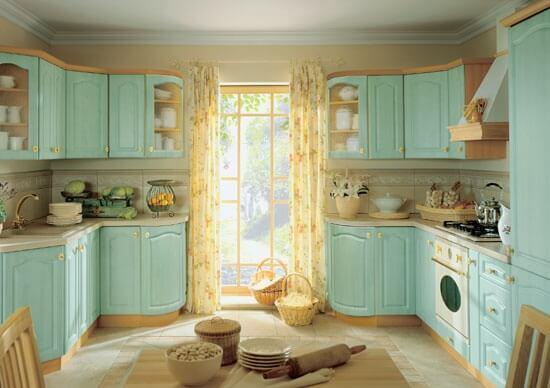 крашенные фасады МДФ для кухни фото