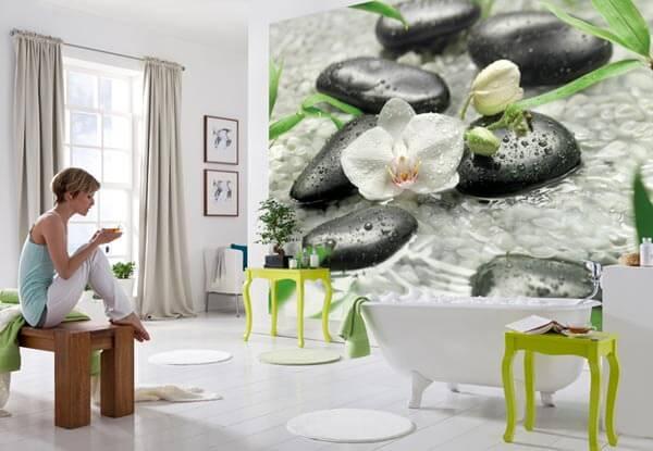 красивые фотообои komar в интерьере