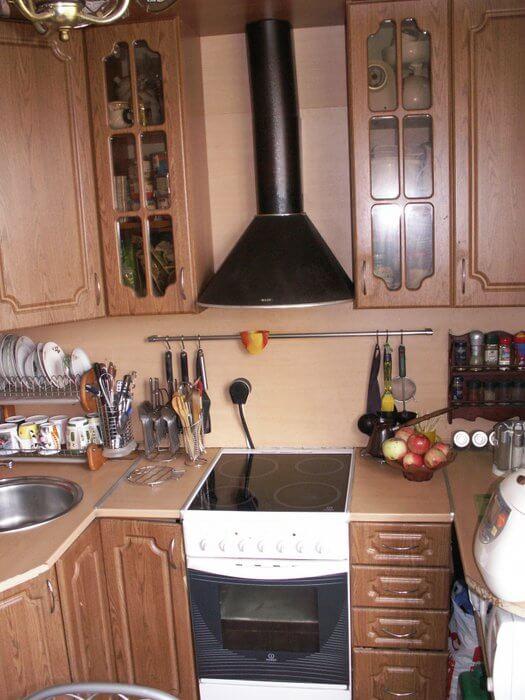 кухня 6 метров планировка