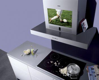 маленький встроенный телевизор для кухни