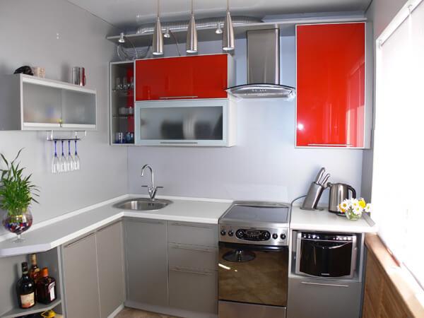 малогабаритная кухня дизайн фото