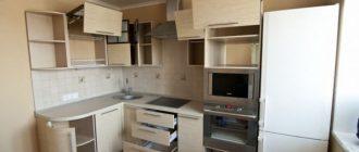 монтаж кухонной мебели своими руками