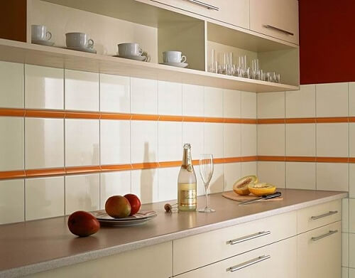 Облицовочная плитка на вашей кухне фото