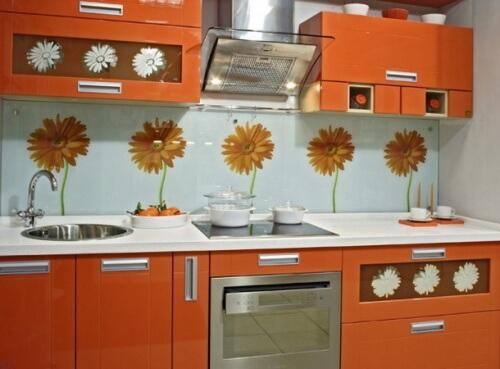 Стеновые пластиковые панели на кухню