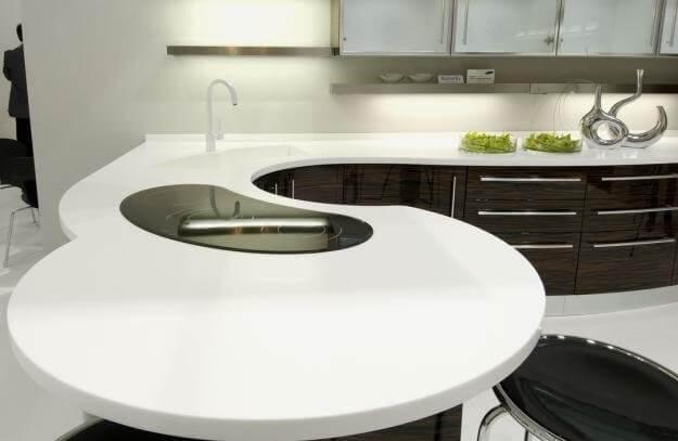 размер столешницы для кухни