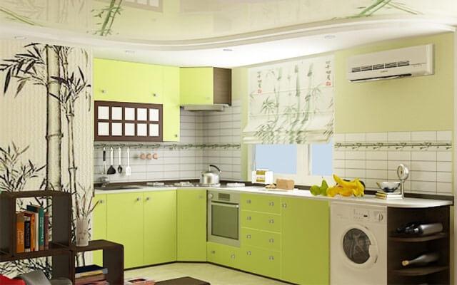 салатовая кухня