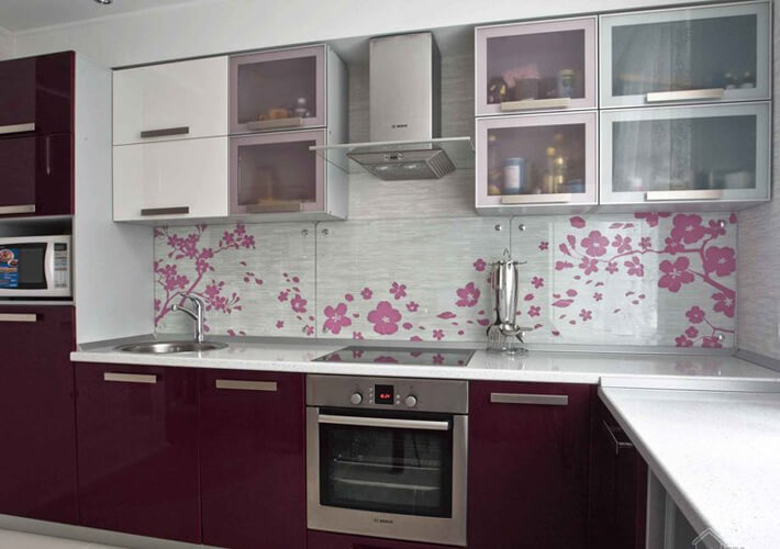стеновые панели на кухню фартук