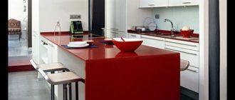 столешница для кухни из пластика