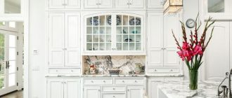 Дизайн кухни белого цвета фото