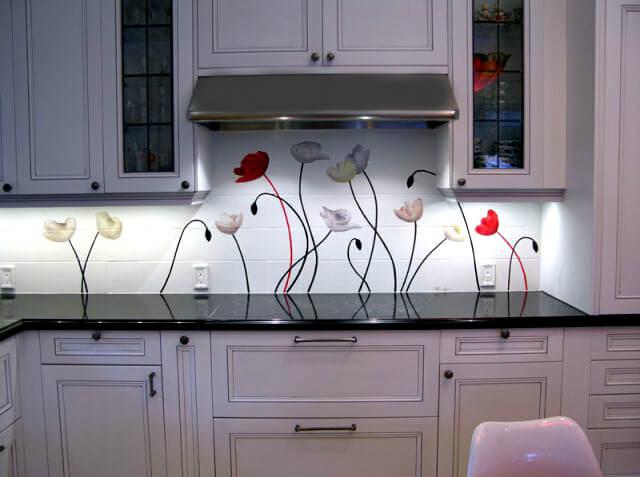 яркая фотоплитка для кухни