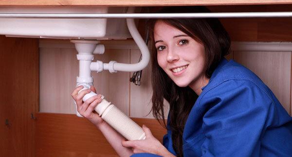 Прочистить раковину на кухне