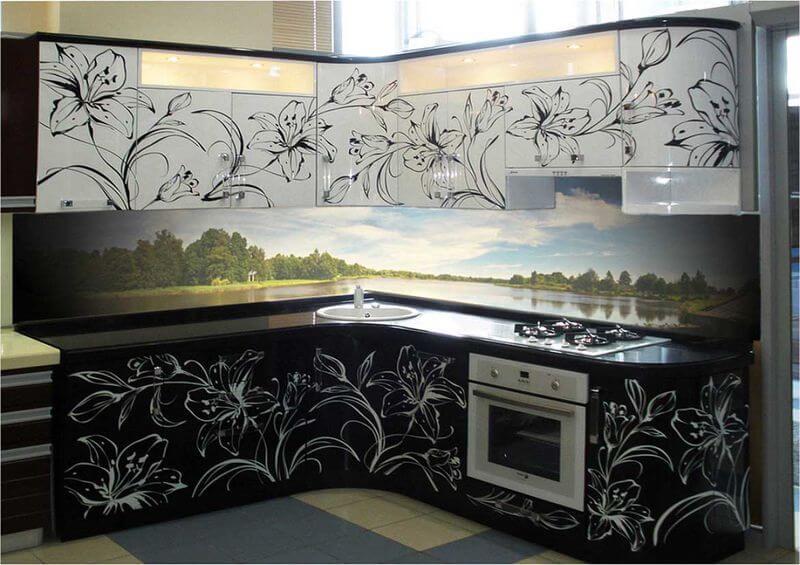 ремонт фасада кухни