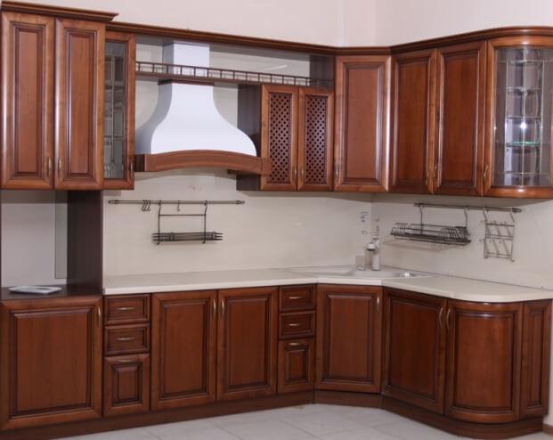 фасады для кухни массив