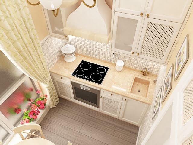 фото кухня 5 метров планировка