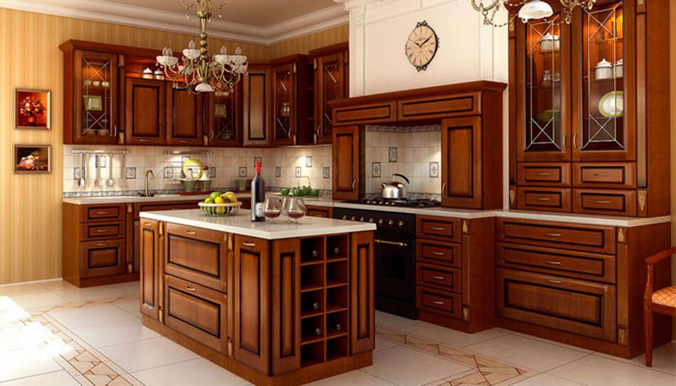 кухонные фасады массив