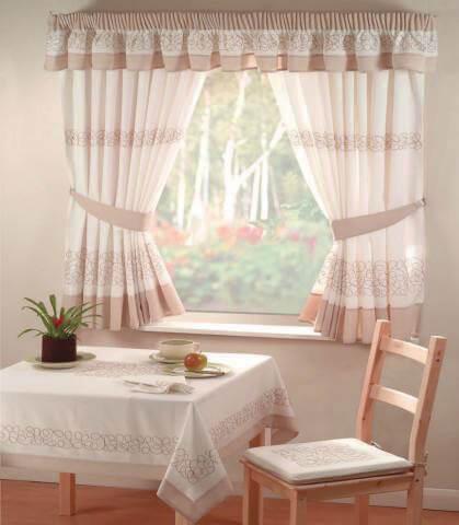 шторы для кухни своими руками стиль кантри