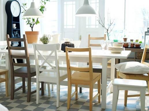стулья табуретки для кухни икеа
