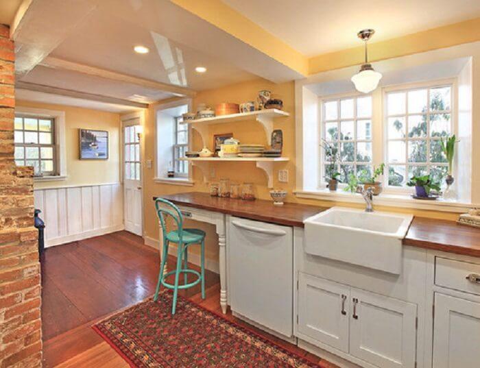 кухня персиковая фото