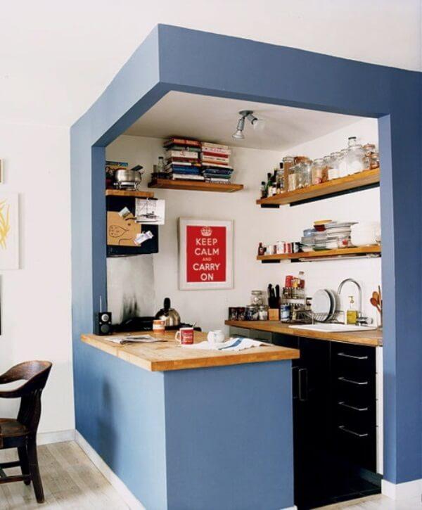 кухонная зона необычный интерьер