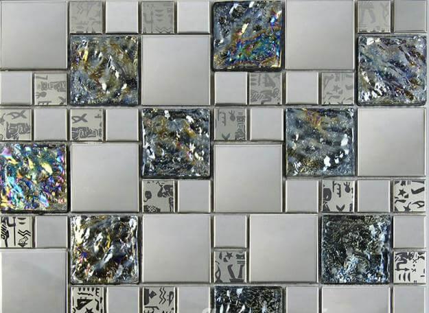 стильная мозаичная плитка