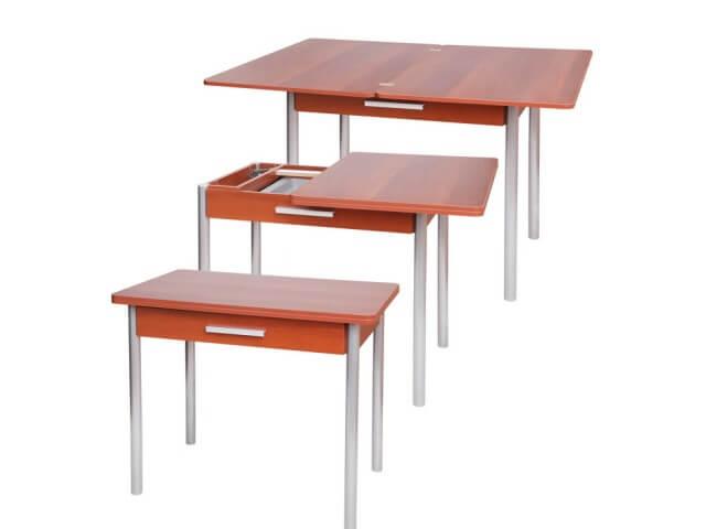 Стол с поворотно-откидным механизмом для кухни